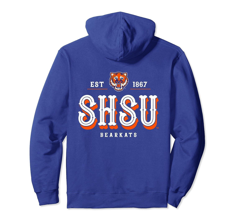 Sam Houston State Bearkats NCAA Full Sleeve Hoodie RYLSHS12-fa