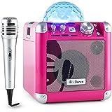 iDance Party Cube BC100–Enceinte portable, couleur ROSE
