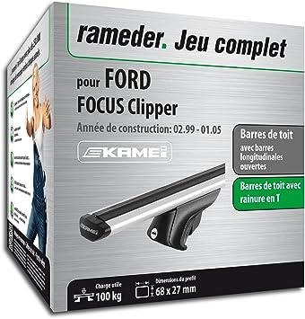 Kit completo Rameder, barras de techo barras de techo Kamei para Ford Focus Break (135344 - 03589 - 10-fr): Amazon.es: Coche y moto