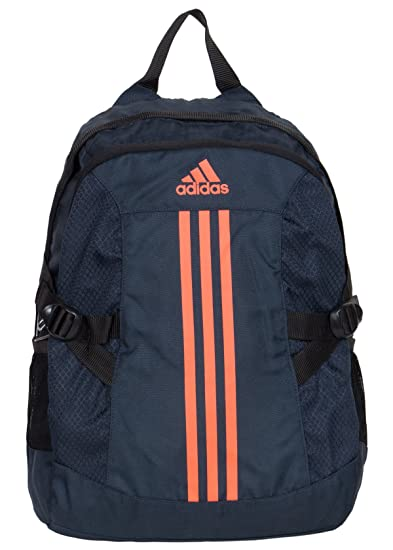 5797245c219e2d Adidas Midnight and Neon Orange Casual Backpack (AH9099): Amazon.in ...