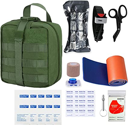 Tactical Waist Packs Travel Hiking Camping First Aid Emergency Medical Bags