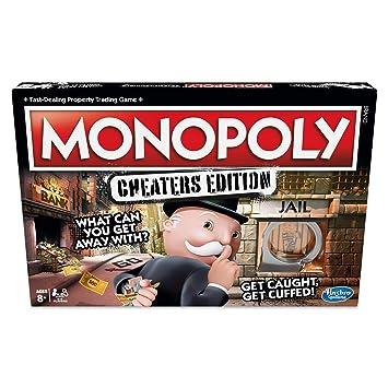 Hasbro Gaming E18712310 Cheaters Edition Juego de Mesa de 8 años ...