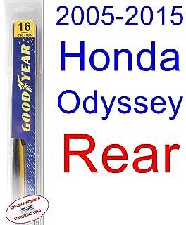 Amazon.com: 2008-2015 Toyota Highlander Wiper Blade (Rear) (Goodyear ...
