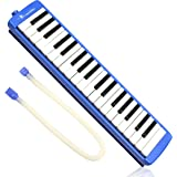 Swan SW37J-2 37-Key Melodica with Case (Blue)