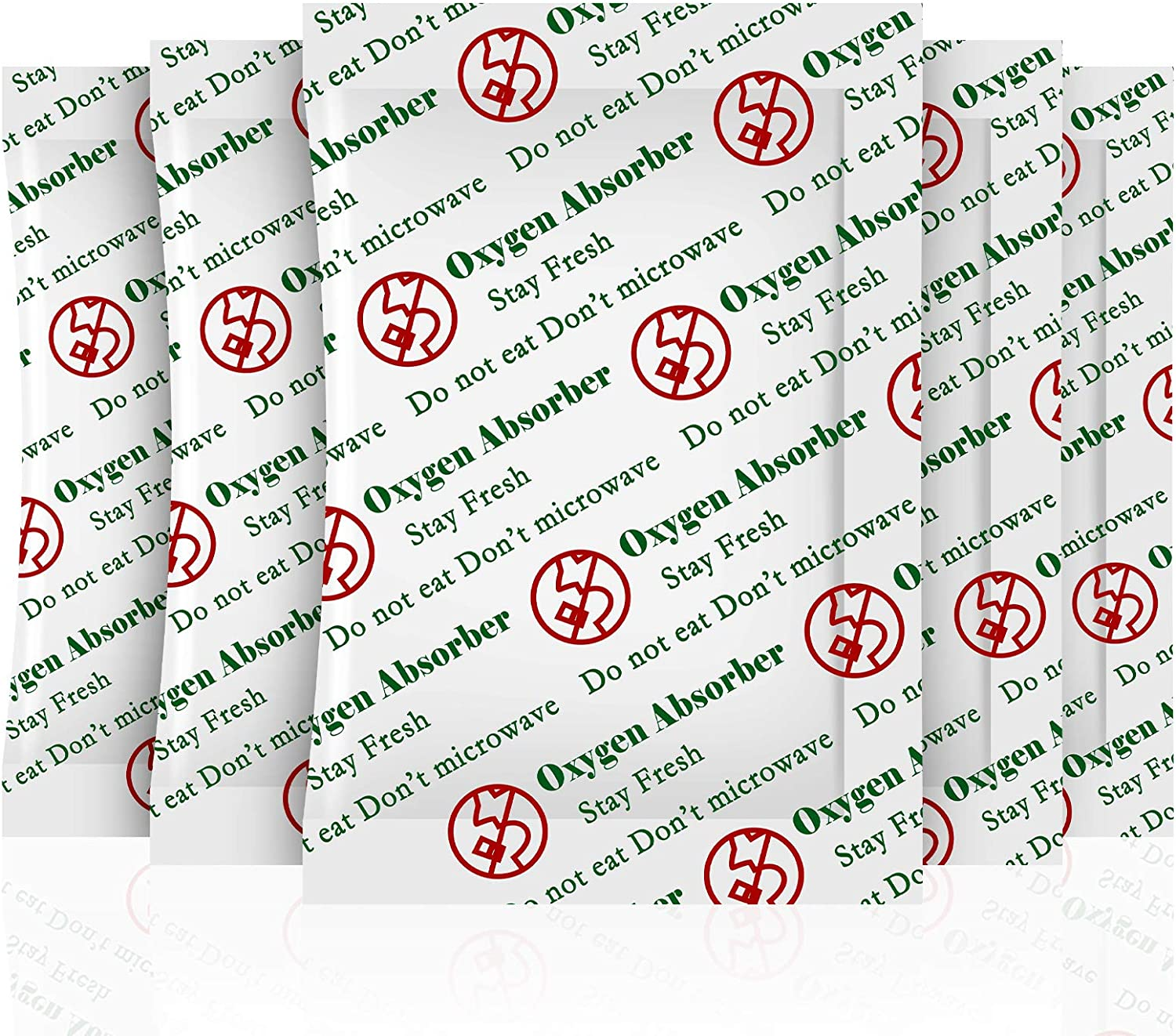 SurpOxyLoc(100Sachets)100cc Oxygen Absorbers for Food Storage, Food Grade Oxygen Absorbers Packets for Food