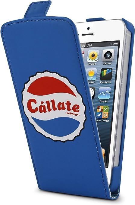 Cállate la boca CBFM026 - Funda slim para Apple iPhone 5/5S, modelo chapa de Pepsi: Amazon.es: Electrónica