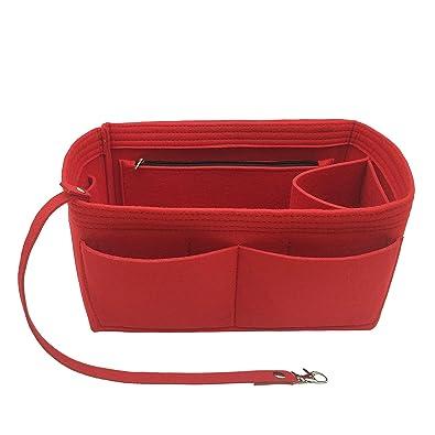 Amazon.com: Organizador de fieltro para bolso de mano con ...