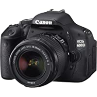Canon EOS 600D Digital SLR Camera (inc. 18-55 mm f/3.5-5.6 IS II Lens Kit) – (Discontinued by Manufacturer)