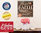 P. Graham Dunn Let Your Faith Be Bigger Than Your