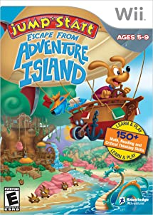 81db67f88345 Jumpstart Escape Adventure island - Nintendo Wii  Video Games