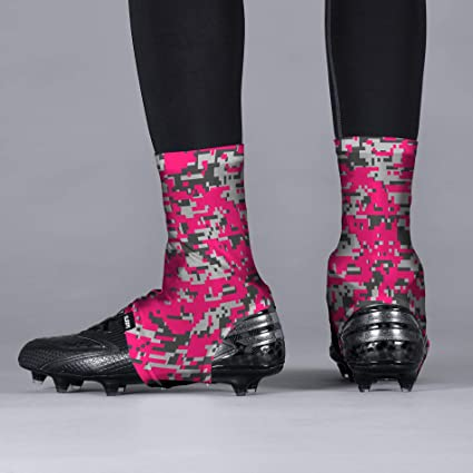 2a1e39bc382 Amazon.com   Digital Camo Pink Clutch Spats Cleat Covers   Sports   Outdoors