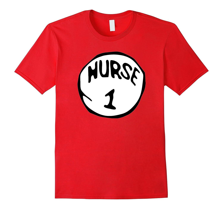 420effc5c4508 Nurse 1 Funny RN Holiday Halloween Costume Nurses T-Shirt-RT – Rateeshirt