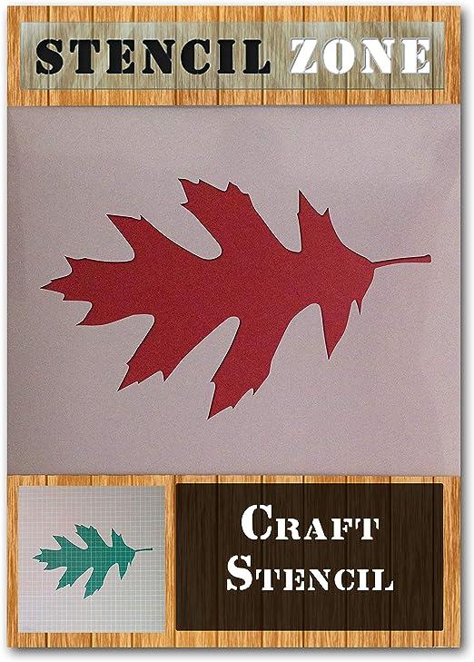 Baum Blatt Zweig Herbst-Blätter Mylar Airbrush Painting  Crafts Schablone