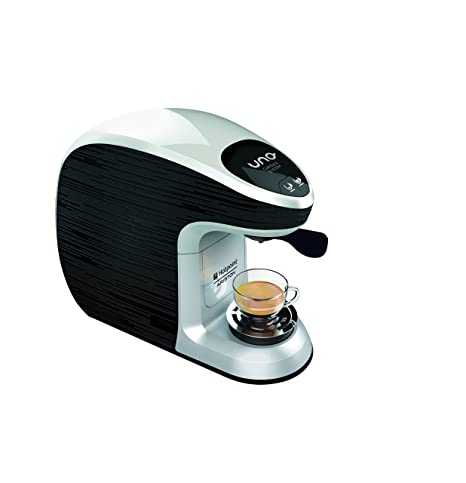 Hotpoint CM MS QBW0 - Máquina para café espresso, 1300 W negro/azul claro