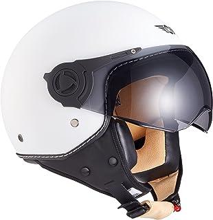 Moto Helmets H44 Biker Jet de casco helmet Retro Scooter de casco Chopper Vintage Mofa Cruiser