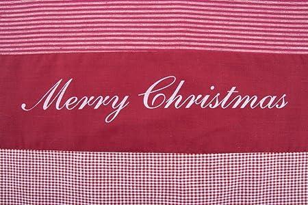 Juego de mesa Merry Christmas, patchwork de algodón 100%, Uni ...