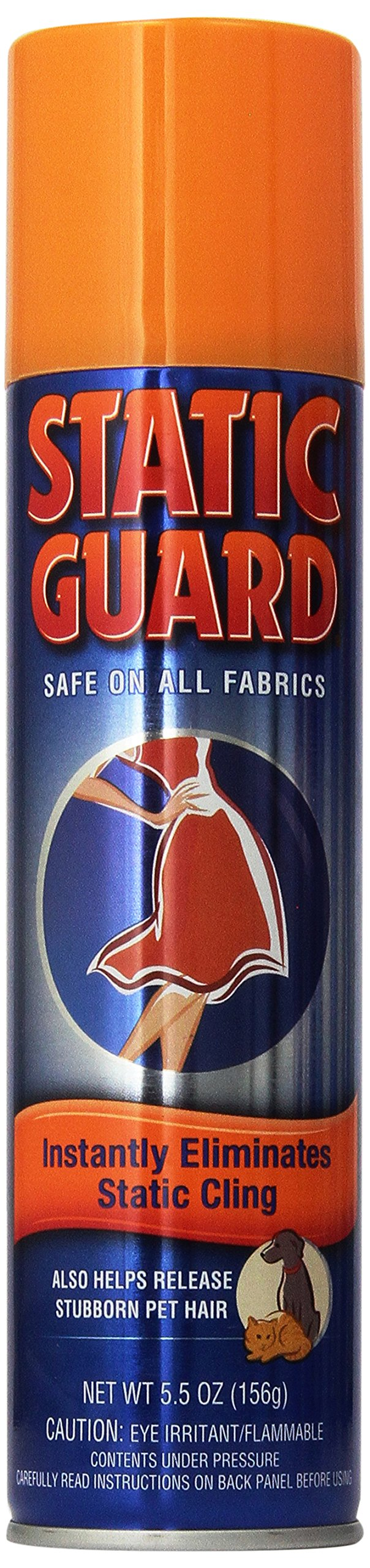 Static Guard Static Cling Spray, 5.5 oz (Pack of 6)