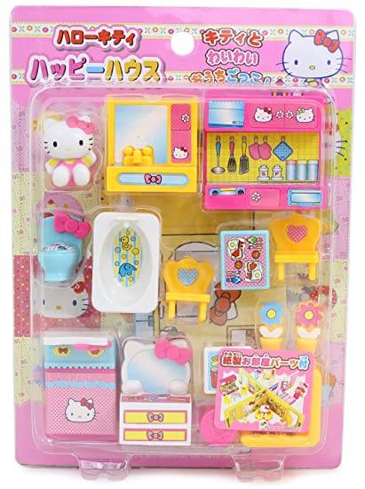 Amazon Com Hello Kitty Miniature Toy My House Garden Living Room