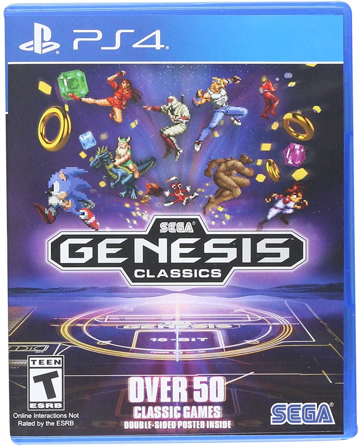 Amazon com: SEGA Genesis Classics - PlayStation 4: Sega of America