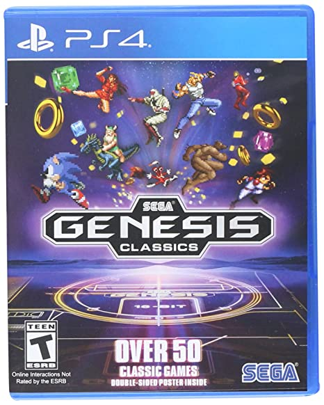 Sega Genesis Classics Playstation 4 Sega Of America Inc Video Games