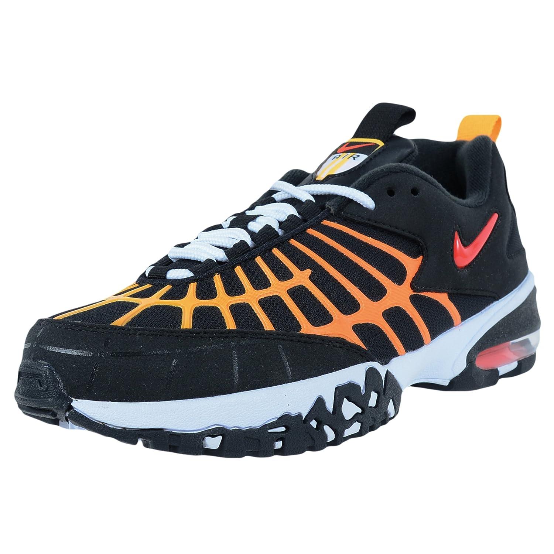 NIKE Men's Air Max 120 Running Shoes B01DTGUIQW 9.5 D(M) US|Black/Laser Orange/White/Bright Crimson