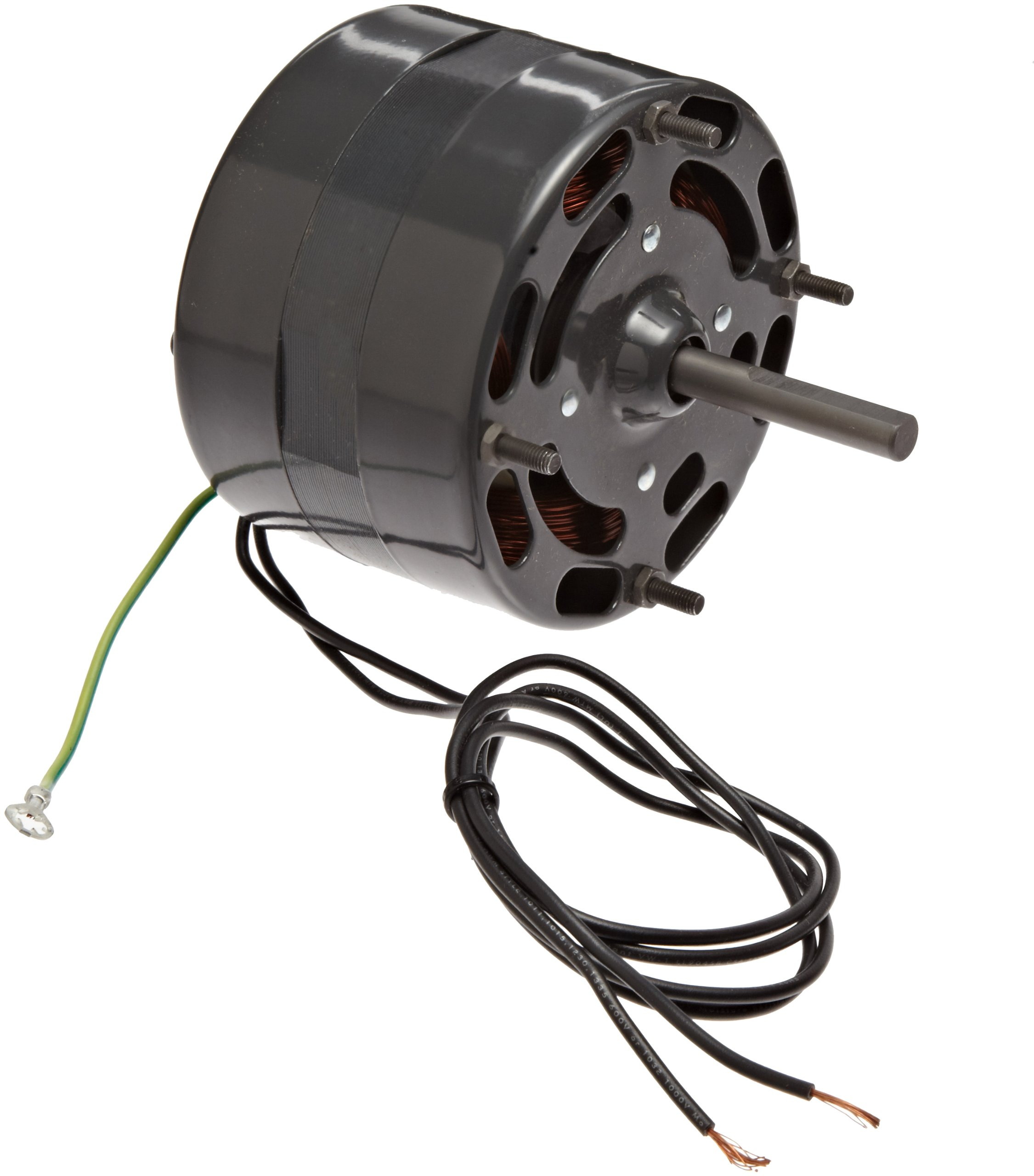 Fasco D116 4.4'' Frame Open Ventilated Shaded Pole General Purpose Motor with Sleeve Bearing, 1/15HP, 1500rpm, 115V, 60Hz, 2.4 amps