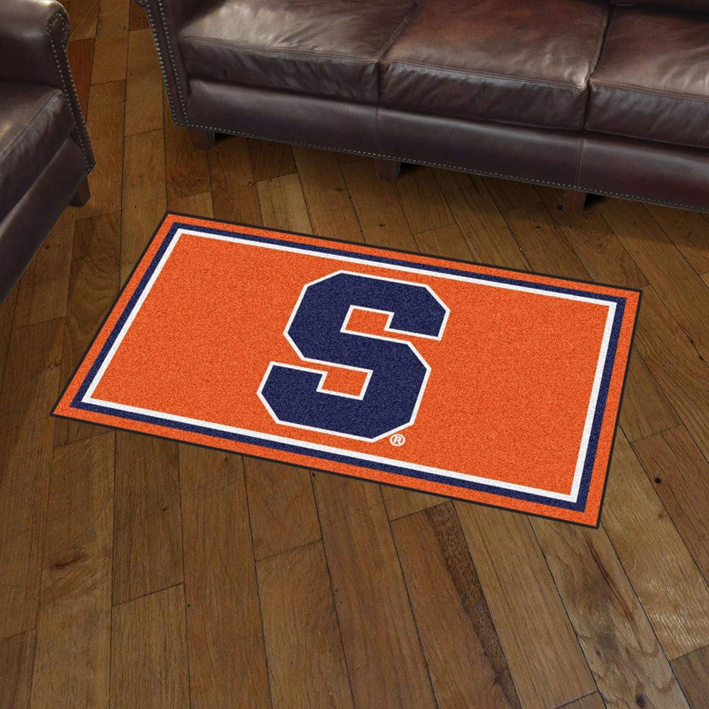 x 5 Ft 3 x 5 Area Rug x 5 Ft FANMATS NCAA Syracuse 3 Ft Orange Area RUG3 Ft