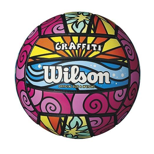 2 opinioni per Wilson Graffiti pallone da pallavolo