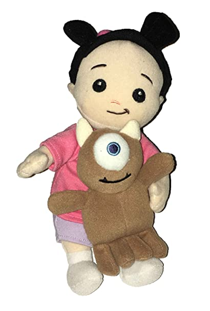 Amazon Com Boo And Little Mikey From Monsters Inc Plush Toys Games