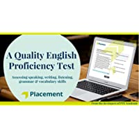 Pearson English Placement Test - An English Proficiency Diagnostic (With Speaking Skills Analysis)