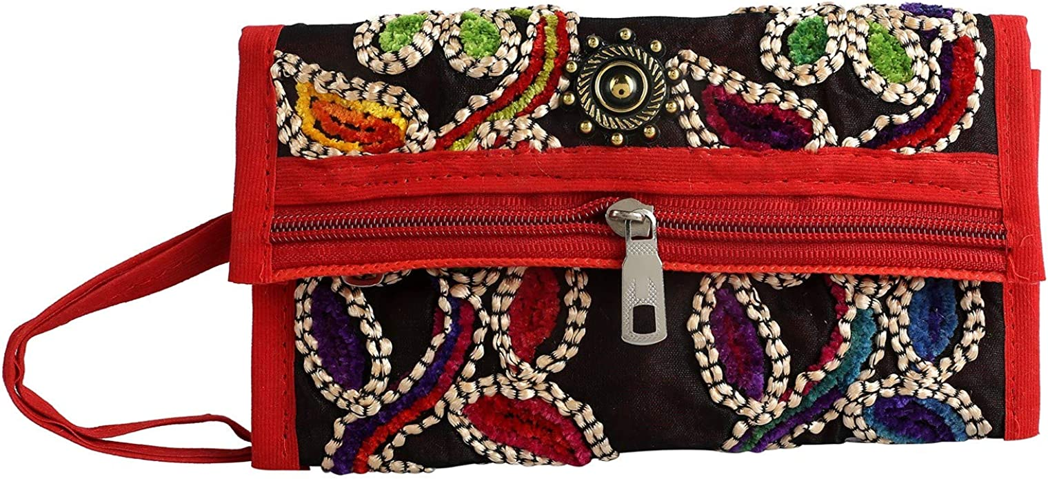 Patch Envelope Clutch African Handmade Pursewallet.