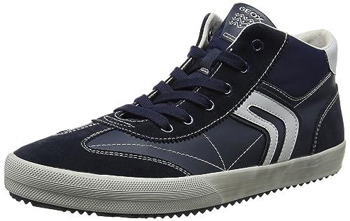 J Alonisso C, Zapatillas Altas Unisex Adulto, Azul (Royal), 41 EU Geox