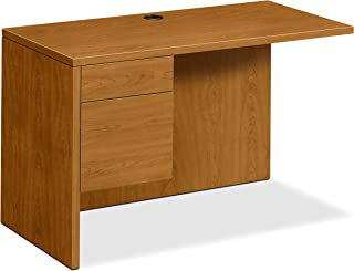 product image for HON Left Return Right Pedestal Desk, 48 by 24 by 29-1/2-Inch, Harvest