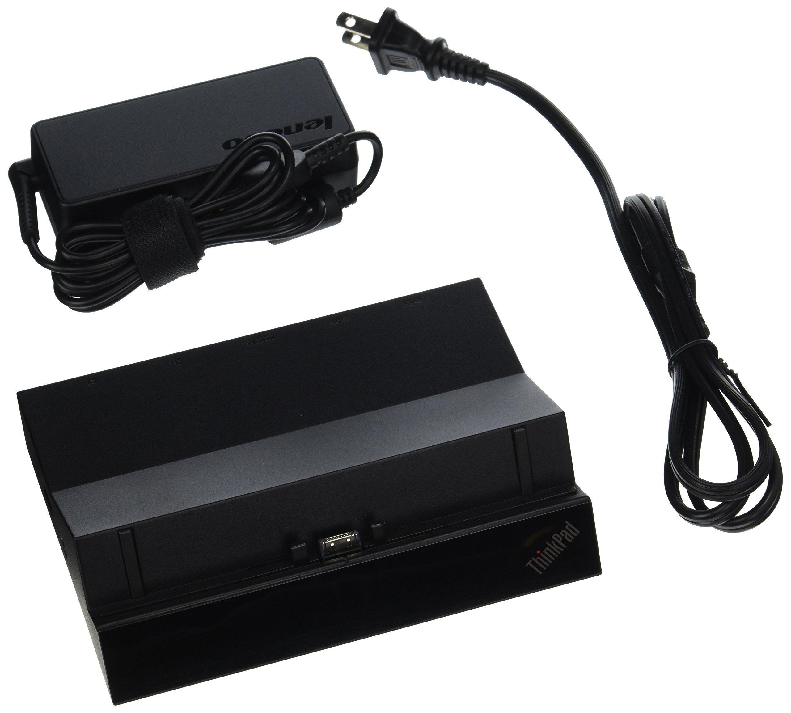 Lenovo ThinkPad Tablet Dock - Docking Station 4X10H03962 (Renewed)