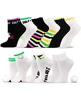 TeeHee Golf Socks 9-Pairs Assorted