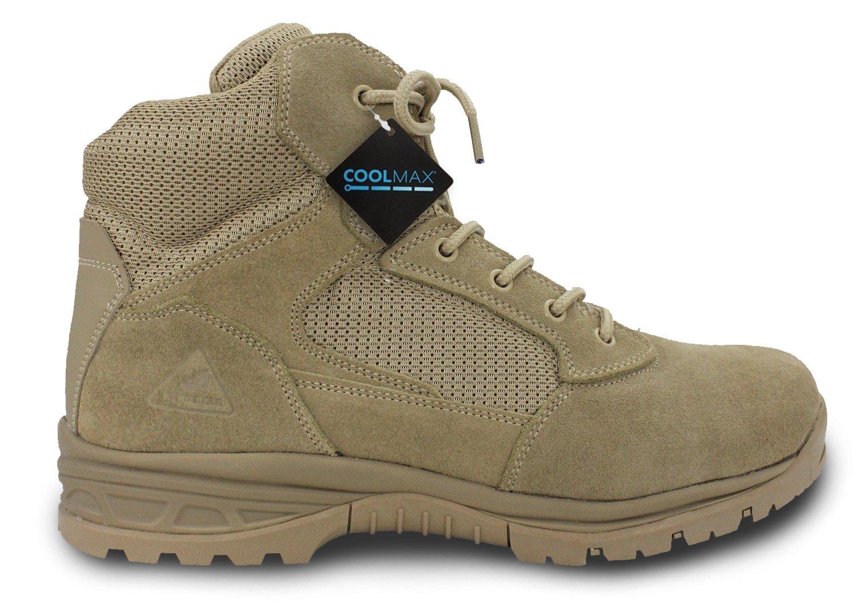 First Class 6'' Coolmax RYNO Gear Tactical Combat Boots (Beige) (11)