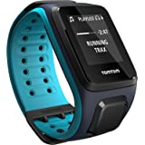 TomTom Spark Music, GPS Fitness Watch + 3GB Music Storage (Large, Sky Captain/Scuba Blue)