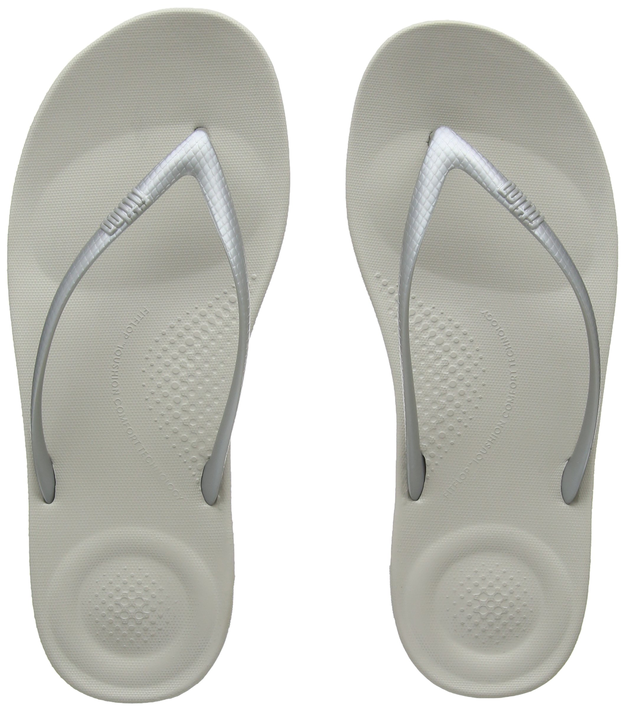 3a7505612f781 Galleon - FitFlop Womens Iqushion Ergonomic Flip Flop Shoes