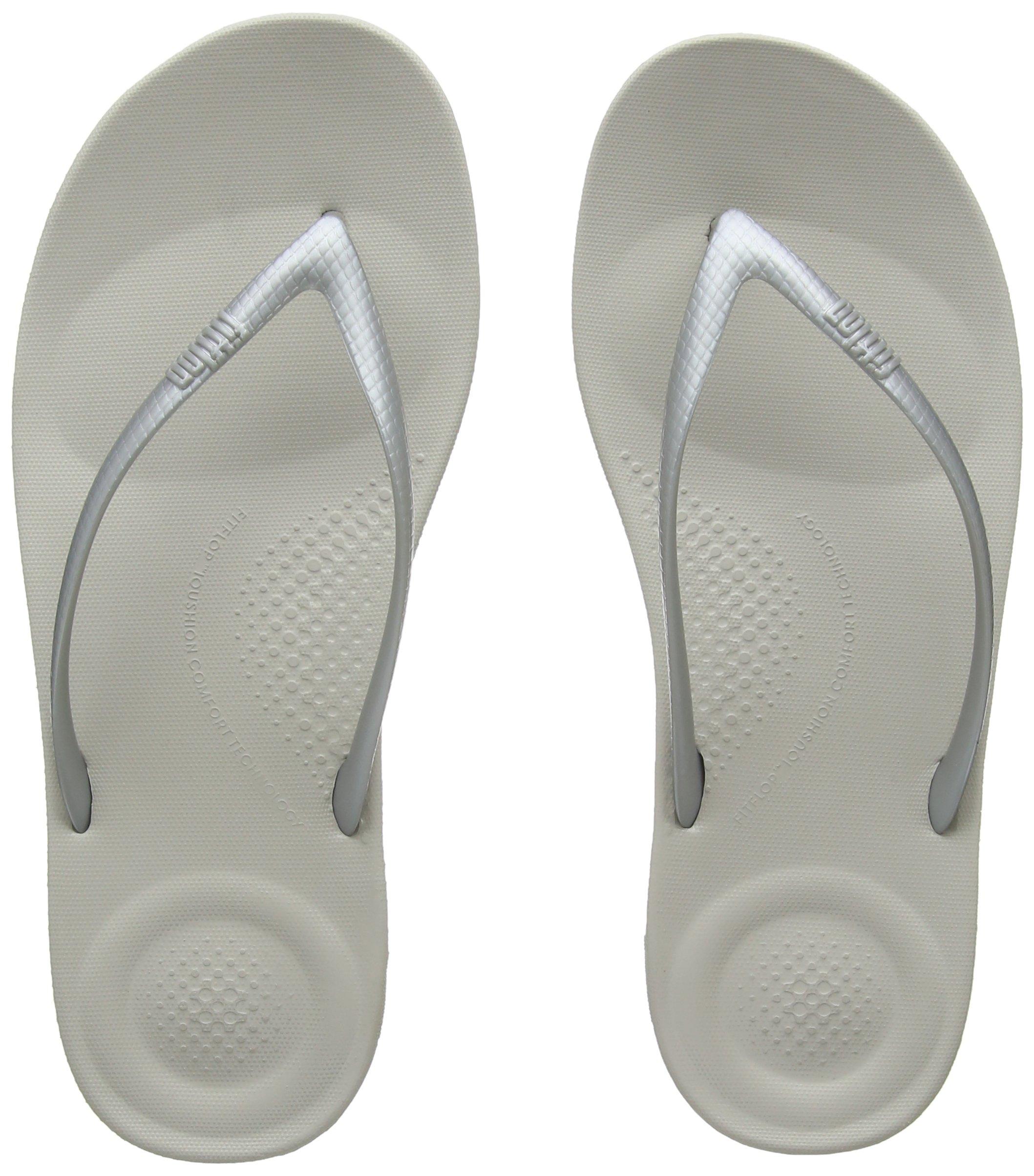 1d01a572e2b957 Galleon - FitFlop Womens Iqushion Ergonomic Flip Flop Shoes