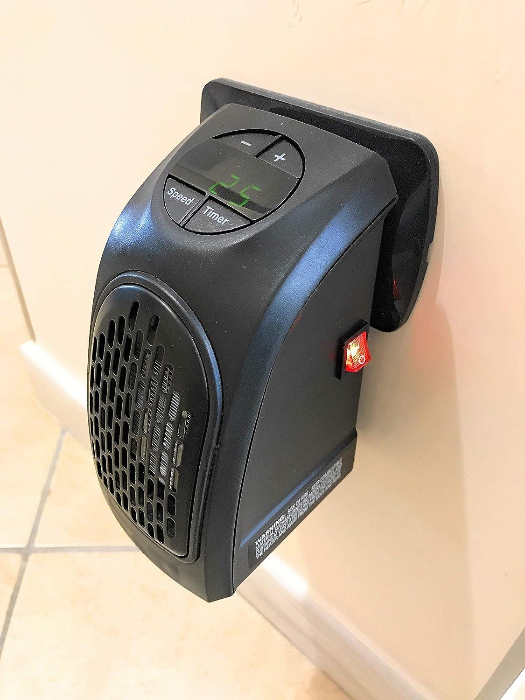 Riscaldamento Elettrico Intelligente per Il Dormitorio del Ministero degli Interni Polite Fiaoen Stufetta Portatile Ventilatore di Riscaldamento da Scrivania con Termostato Regolabile