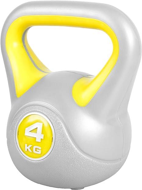 6kg MaxxGarden MaxxToys Kettlebells Plastique halt/ères Russes halt/érophilie Fitness