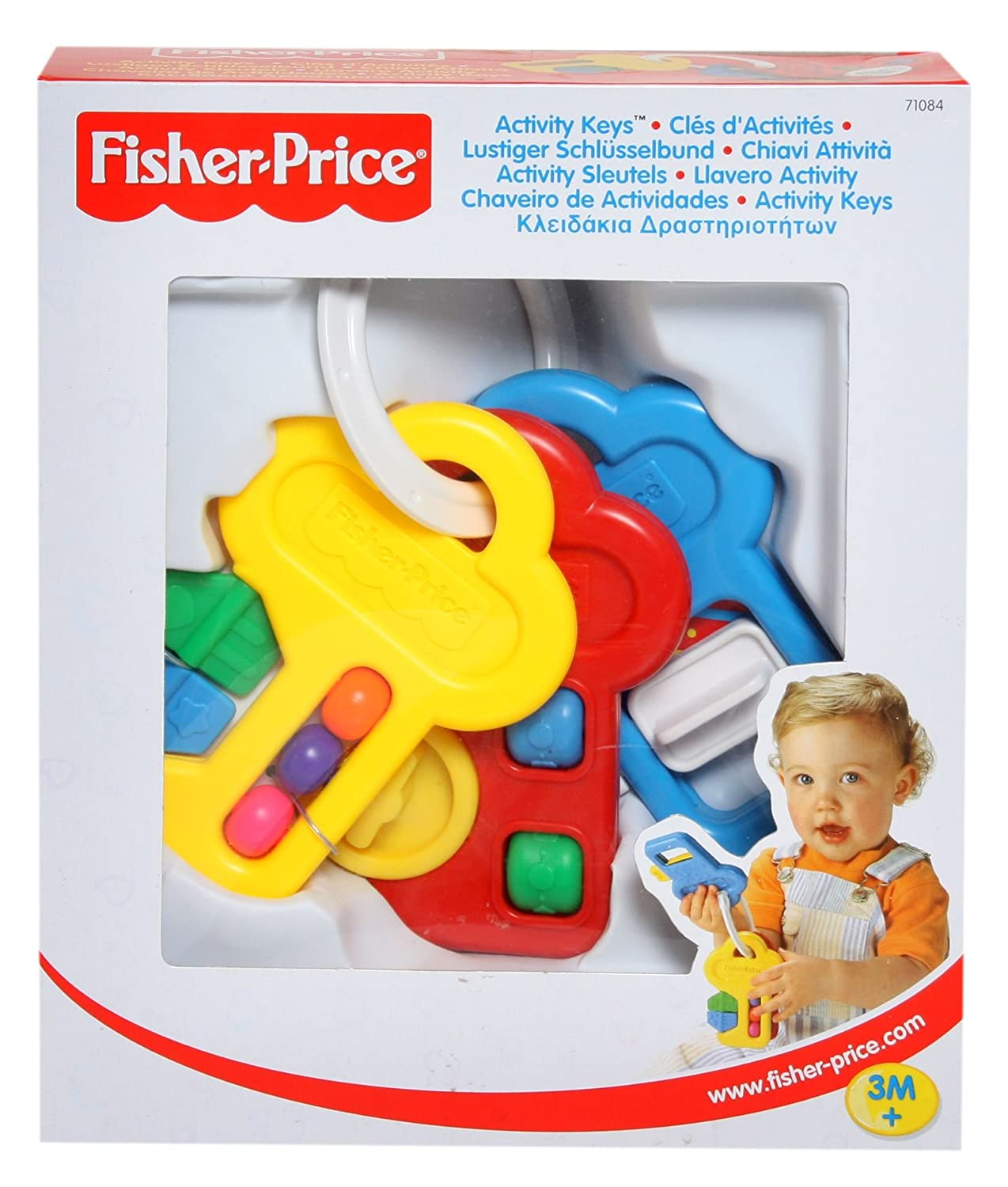 Amazon.com: Fisher Price – Actividad llaves): Toys & Games