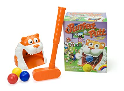 Amazon.com: Purrfect Putt Golf Juego: Toys & Games