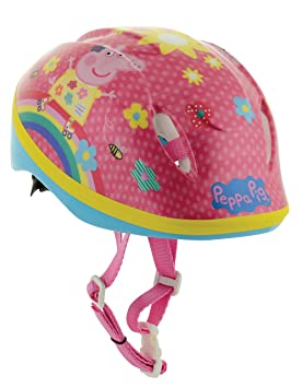 Peppa Pig niñas casco de seguridad, Seguridad, niña, color rosa, tamaño