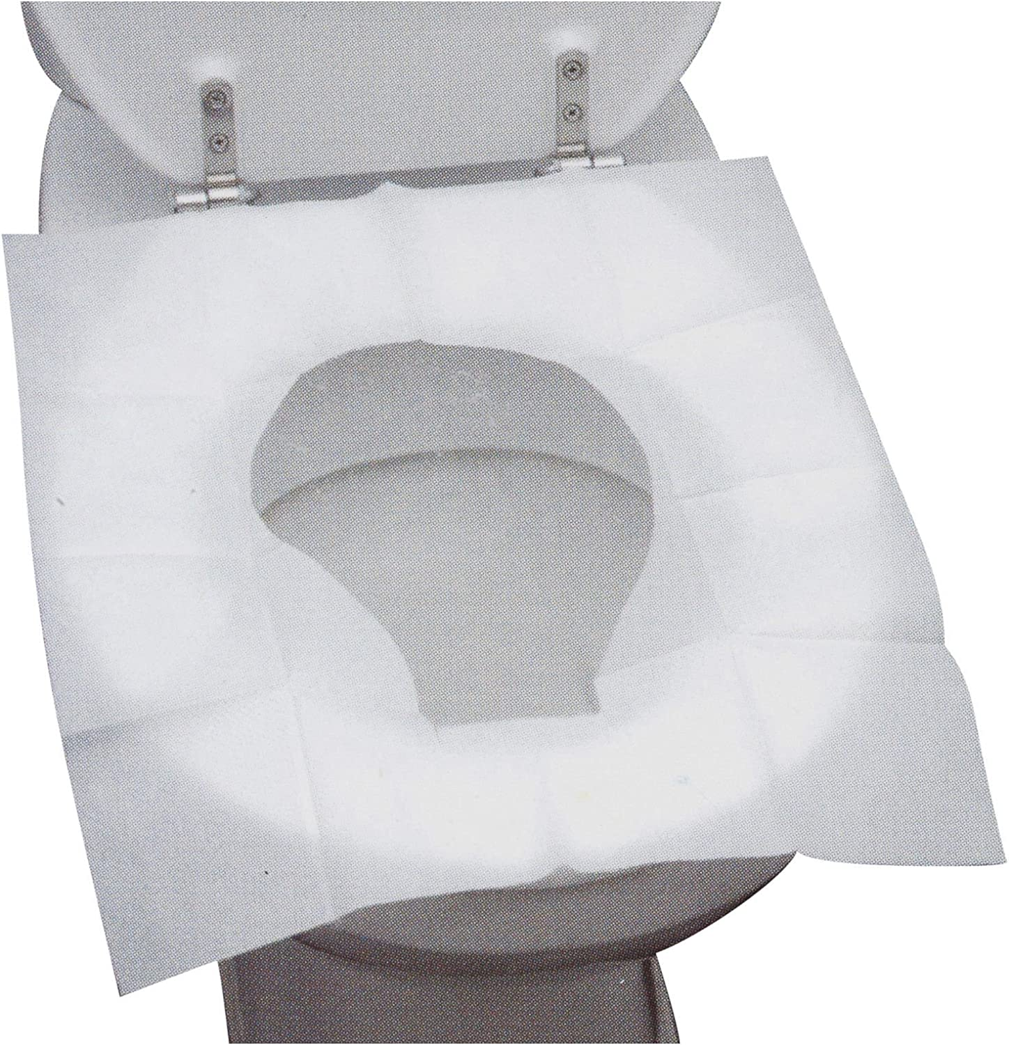50 x Disposable Toilet Seat Covers Hygienic Flushable Travel Camping Pocket Size