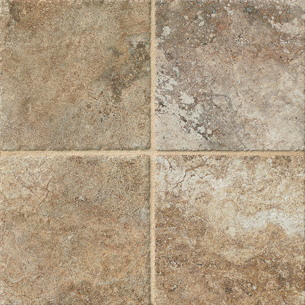 Walnut Bedrosians CRDFORWA66Forge Brushed Texture Tile 6.5 x 6.5