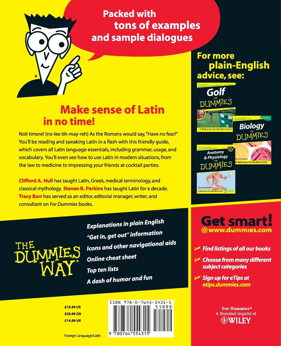 Latin for Dummies: Amazon.co.uk: Tracy L. Barr, Steven Perkins ...
