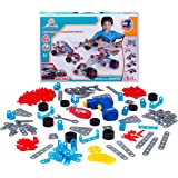 Summerease STEM Car Building Set - 244 Pcs Instructional STEM Toys for 7 Year Olds and up - Construction & Engineering Proficiency for Boy Girl Ages 6 & Up