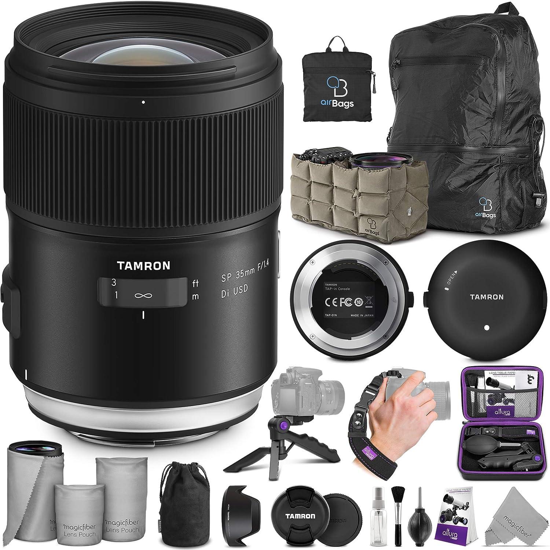 Tamron Sp 35 Mm F 1 4 Di 2 0 Ghz Objektiv Für Nikon F Kamera