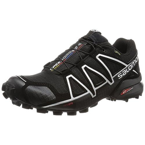 Salomon Hombre Speedcross 4 GTX, Trail Running Footwear, Waterproof